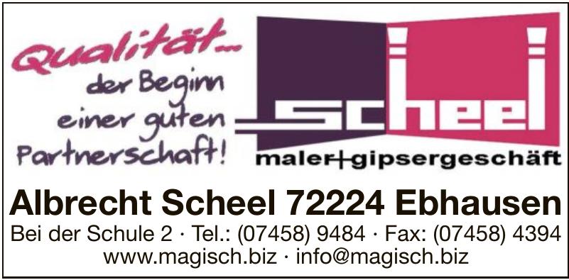Scheel Maler + Gipsergeschäft
