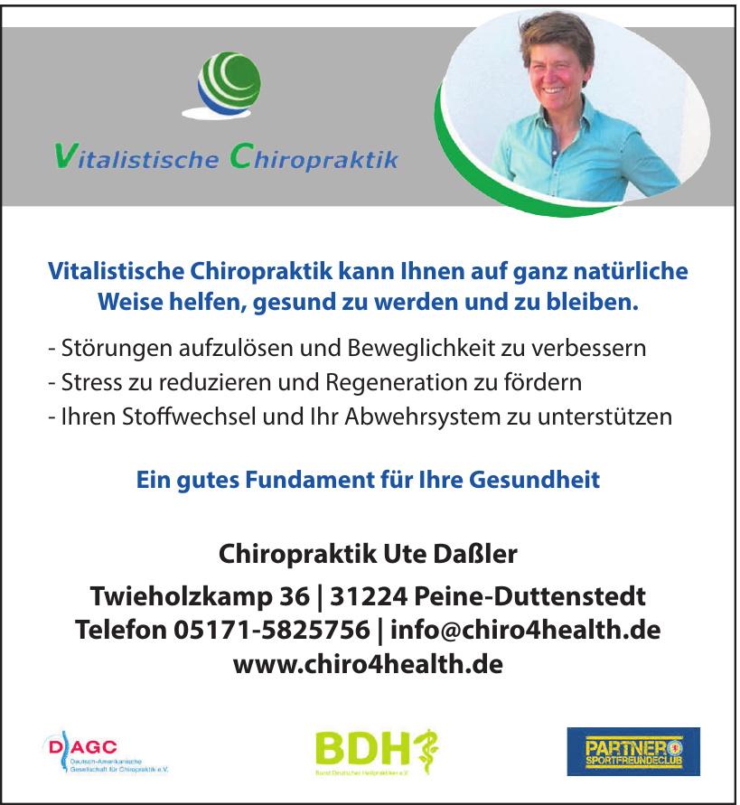 Chiropraktik Ute Daßler