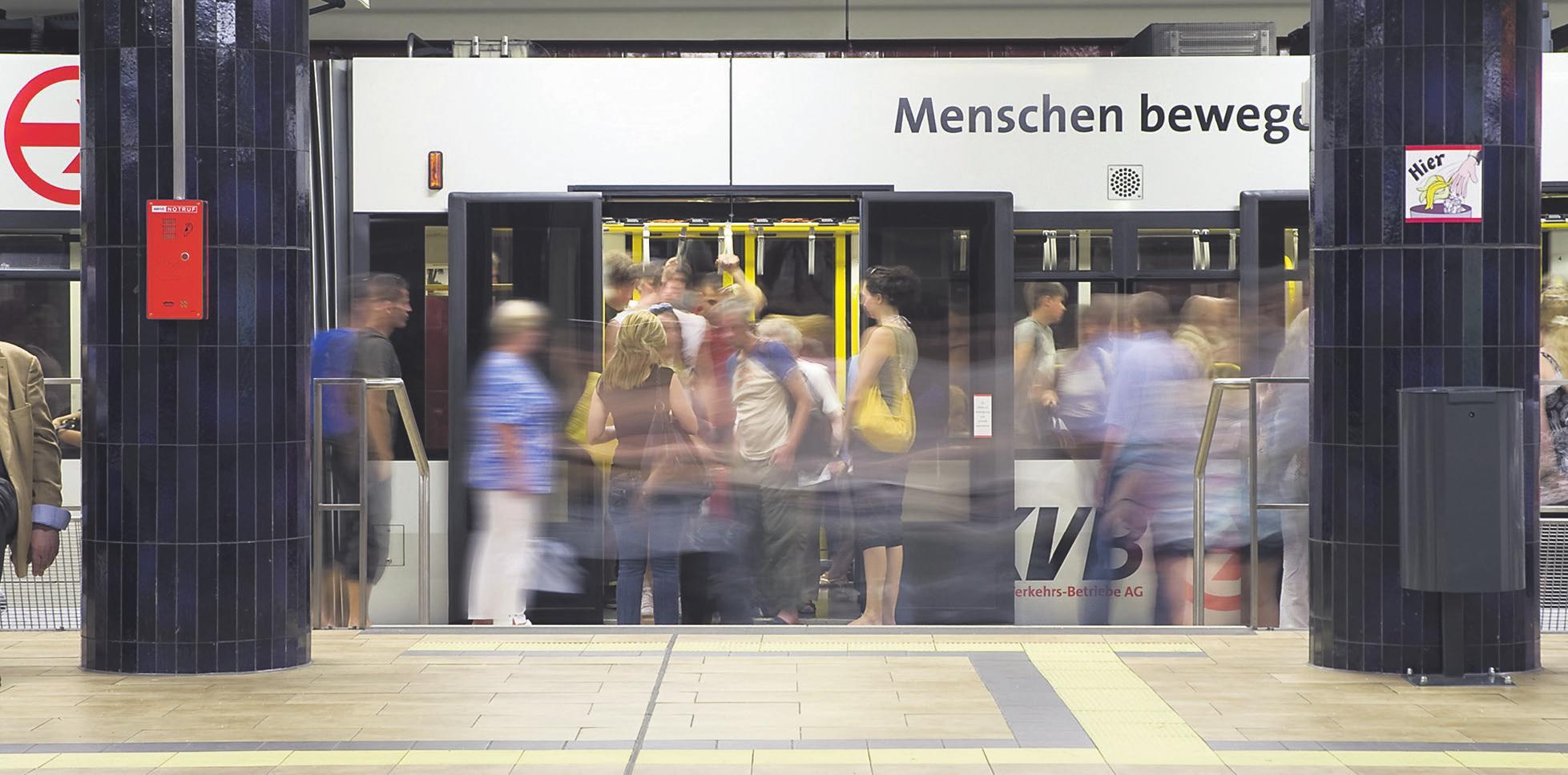 Knapp 286 Millionen Menschen waren 2019 mit Bus und Bahn unterwegs