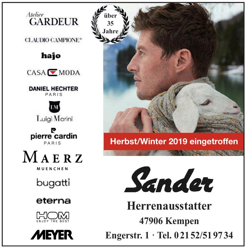 Herrenausstatter Sander