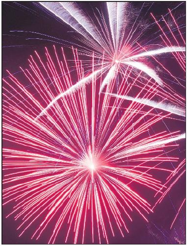 Höhepunkt des Festes: das Feuerwerk. FOTO: DPA