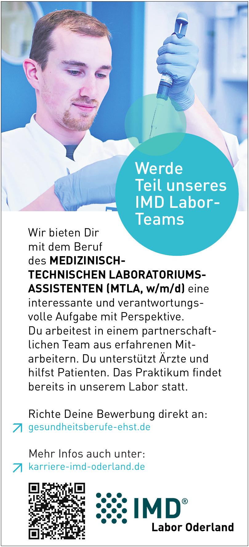 IMD Labor Oderland
