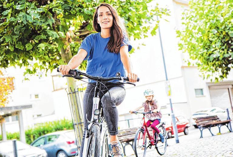 Die Aktion Stadtradeln gibt es ab dem 1. August auch in Erbach. Foto: Klima-Bündnis