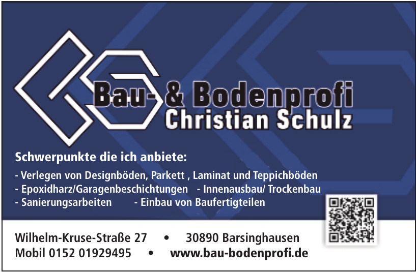 Bau- & Bodenprofi Christian Schulz