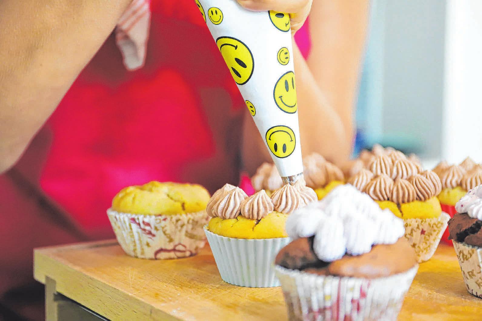 Auch für Hobbybäckerinnen finden sich viele vegane Möglichkeiten. FOTO: ZARTBITTER - DESIGN