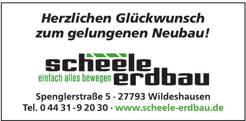 Scheele Erdbau