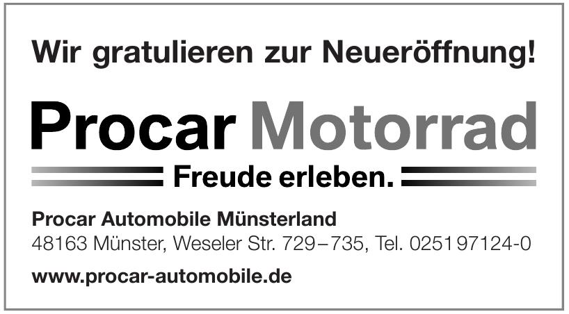 Procar Automobile Münsterland