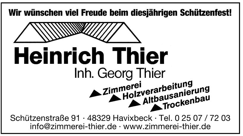 Heinrich Thier