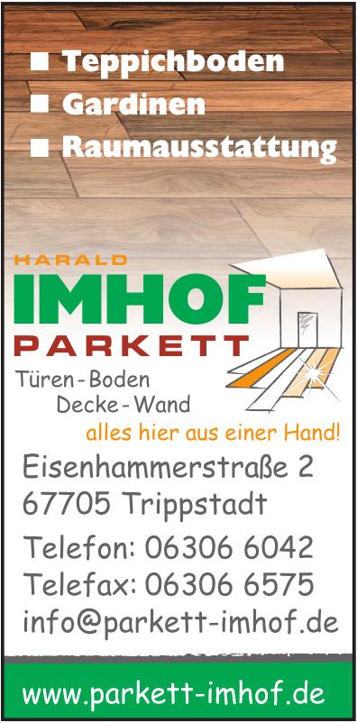 Harald Imhof Parkett