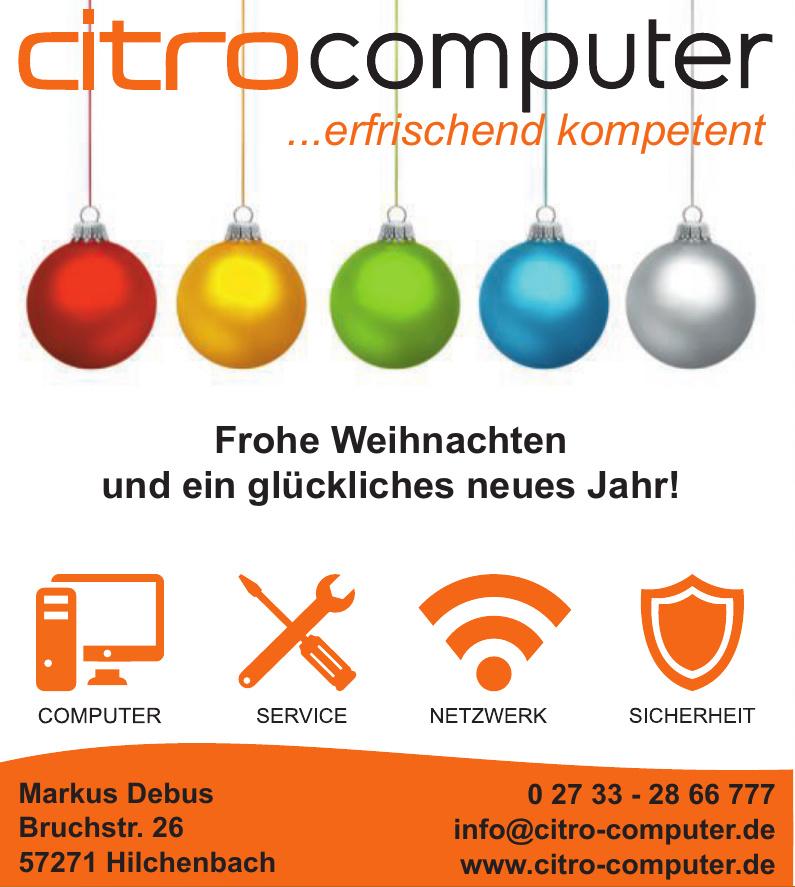 citro computer Markus Debus