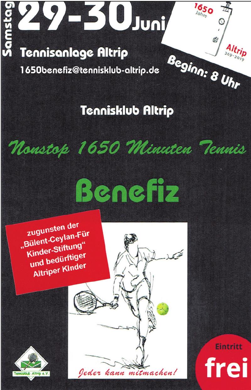 Tennisklub Altrip - Benefiz