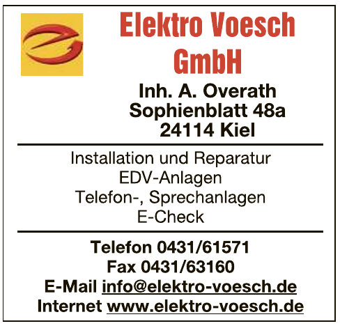Elektro Voesch GmbH