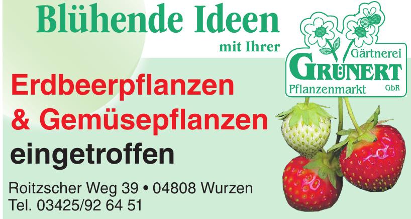 Gärtnerei & Pflanzenmarkt Grünert GbR