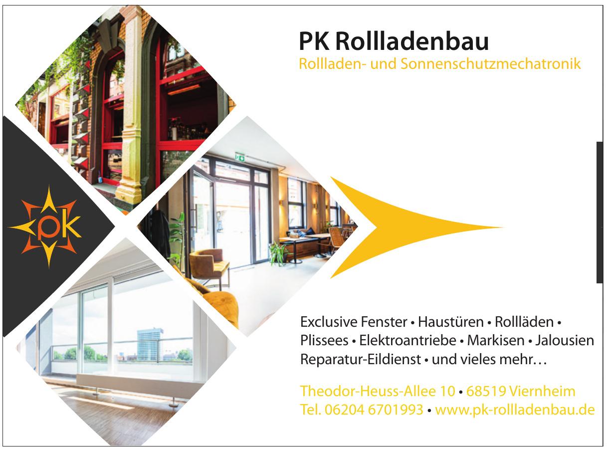 PK Rollladenbau