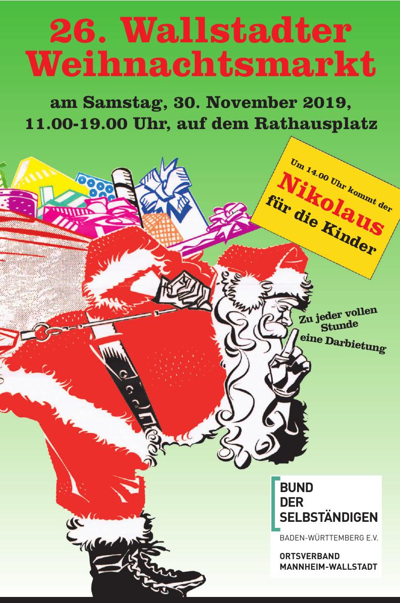 26. Wallstadter Weihnachtsmarkt