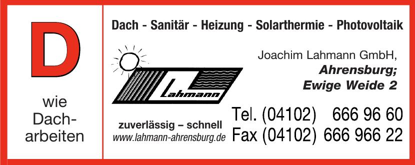 Joachim Lahmann GmbH