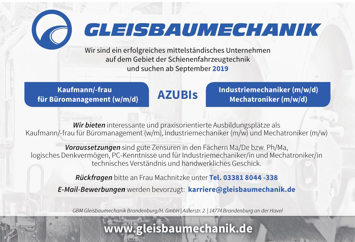 GBM Gleisbaumechanik Brandenburg / H. GmbH