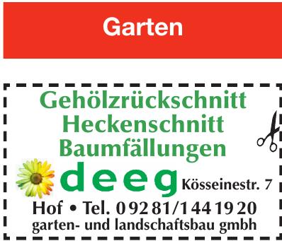 Deeg Garten & Lanschaftsbau GmbH