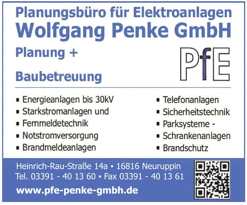 Planungsbüro für Elektroanlagen Wolfgang Penke GmbH