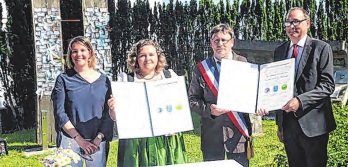 Partnerschaftsfeier mit der Gemeinde Soleuvre en Bocage Foto: Gemeinde St. Ulrich