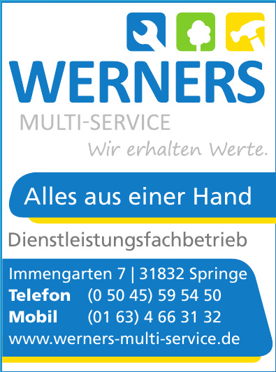 Werners Multiservice