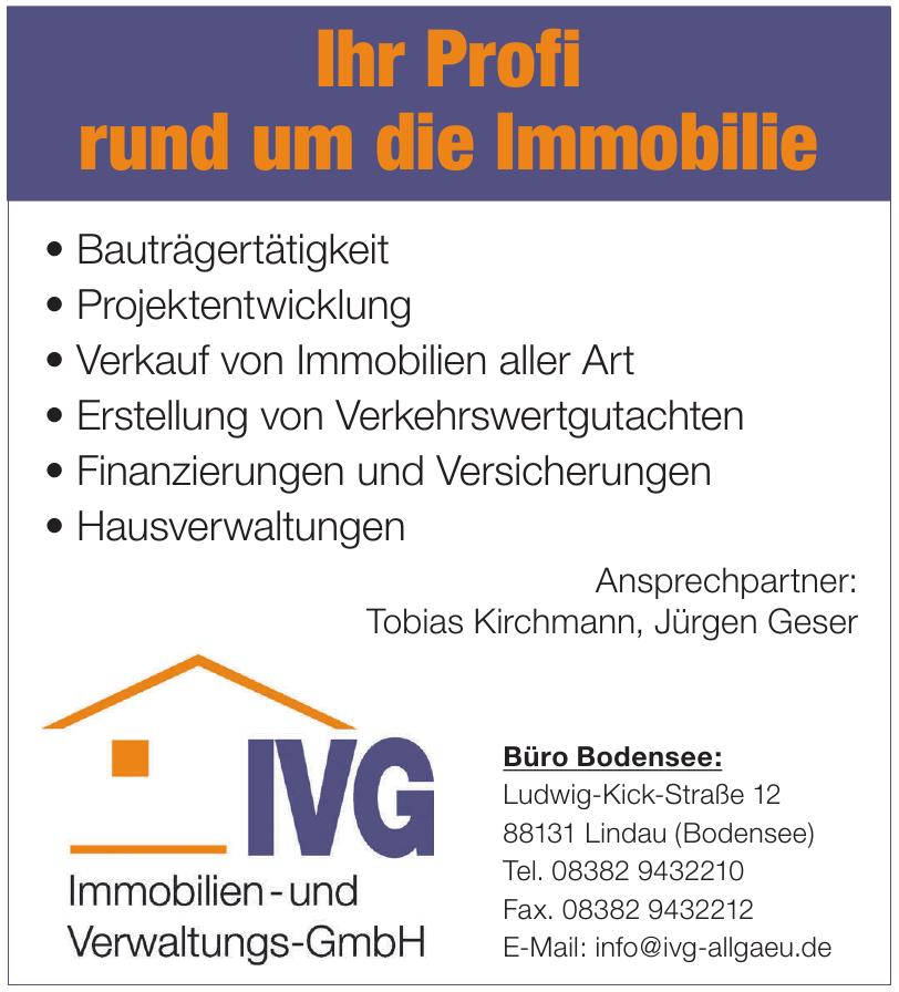 IVG Immobilien- und Verwaltungs-GmbH Jürgen Geser/Tobias Kirchmann