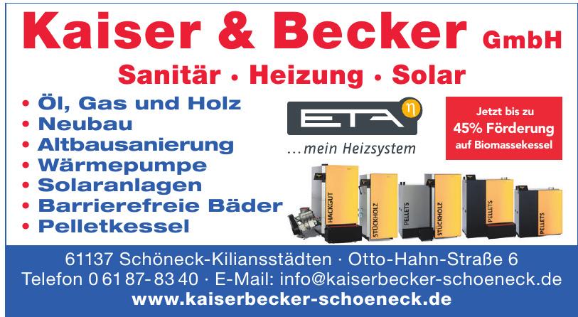 Kaiser & Becker GmbH