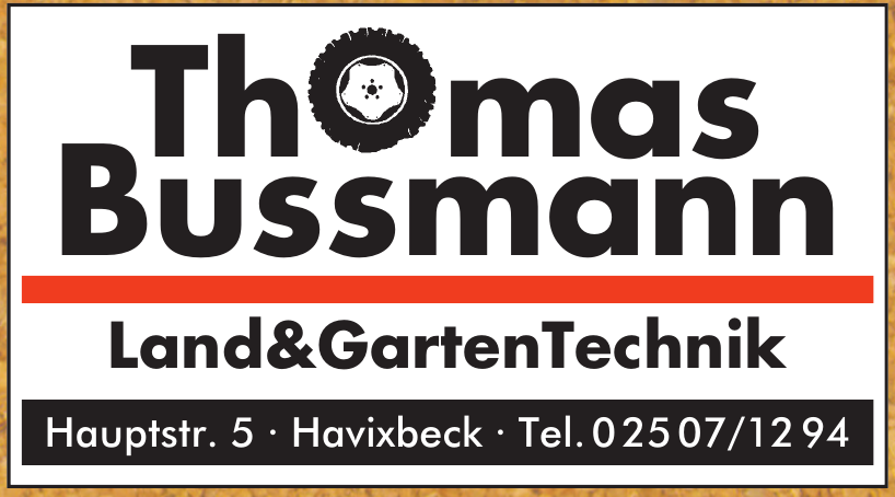 Thomas Bussmann Land & Garten Technik