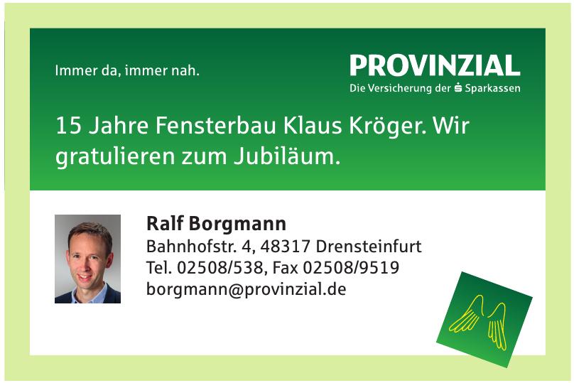 Provinzial Ralf Borgmann