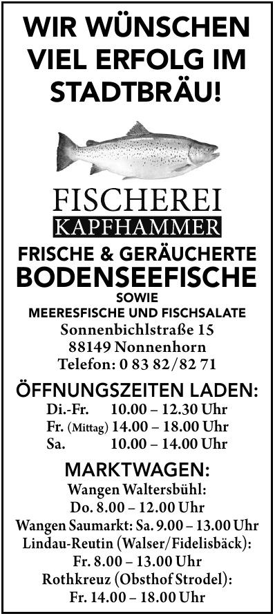 Bodenseefischerei Kapfhammer