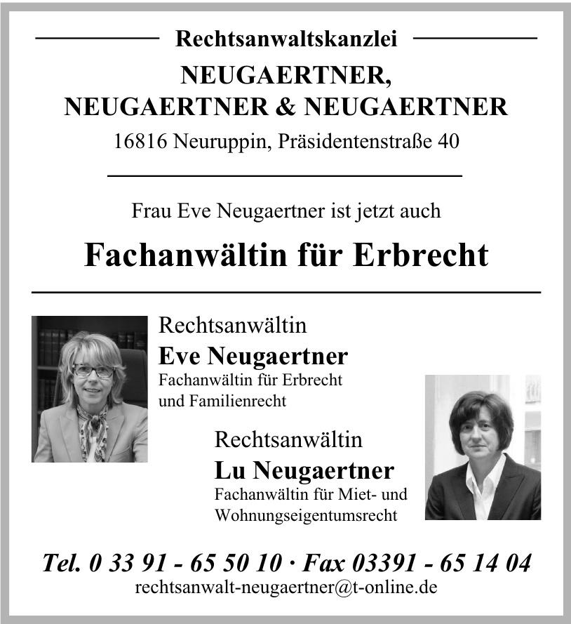 Rechtsanwaltskanzeli Neugaertner & Neugaertner