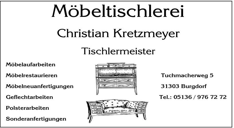 Möbeltischlerei Christian Kretzmeyer Tischmeister