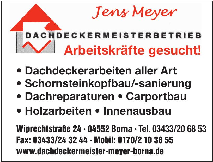 Jens Meyer Dachdeckermeisterbetrieb