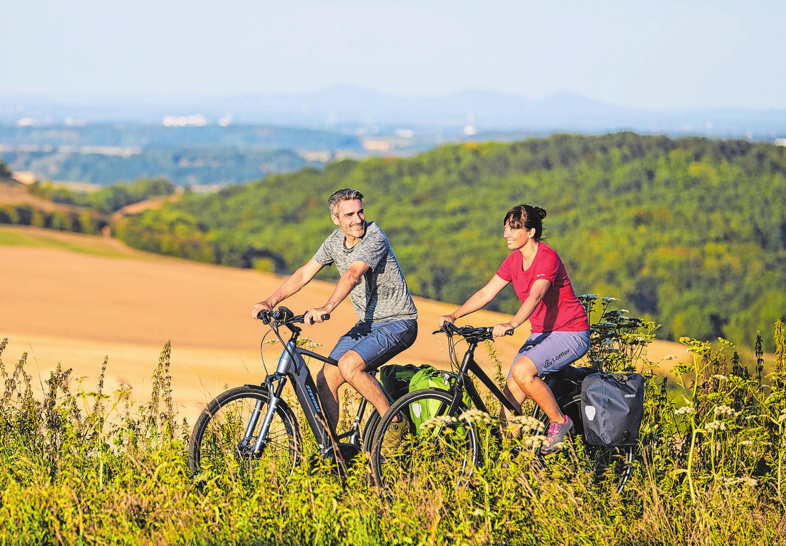 Urlaub mit dem Rad erfreut sich seit Jahren großer Beliebtheit. Laut Adfc waren im letzten Jahr 27 Prozent mehr Fahrradurlauber unterwegs als 2017. In Brandenburg ist das Seenland Oder-Spree bei urlaubenden Radlern besonders gefragt. Foto: adfc