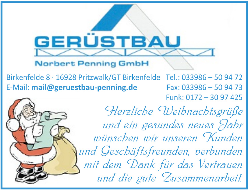 Gerüstbau Norbert Penning GmbH