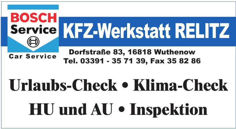 KfZ-Werkstatt Relitz