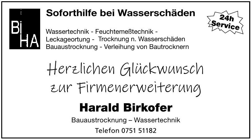 Harald Birkofer