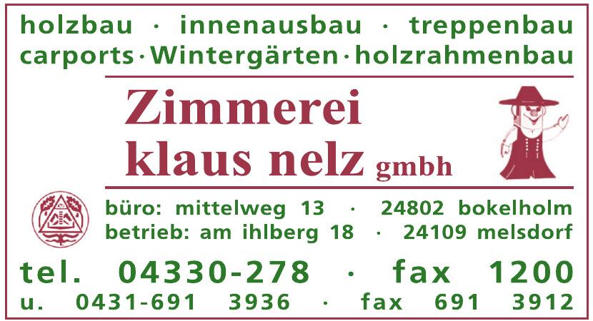 Zimmerei Klaus Nelz GmbH