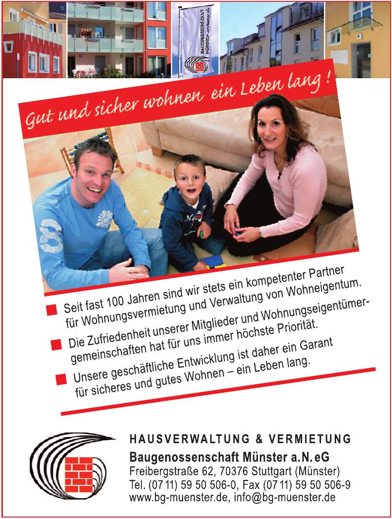 Baugenossenschaft Münster a.N. eG