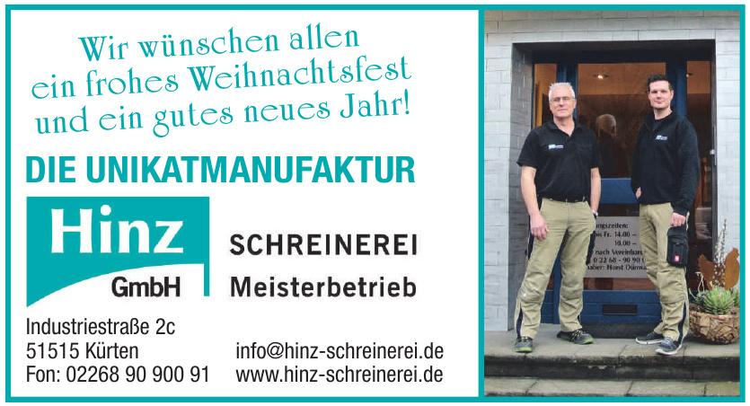 Hinz Schreinerei GmbH