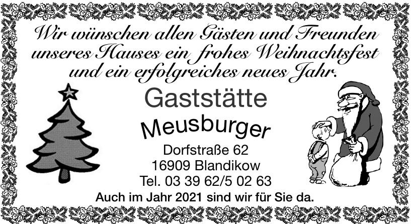 Gaststätte Meusburger