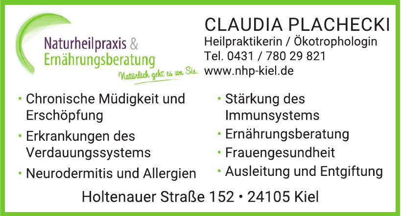 Claudia Plachecki Heilpraktikerin