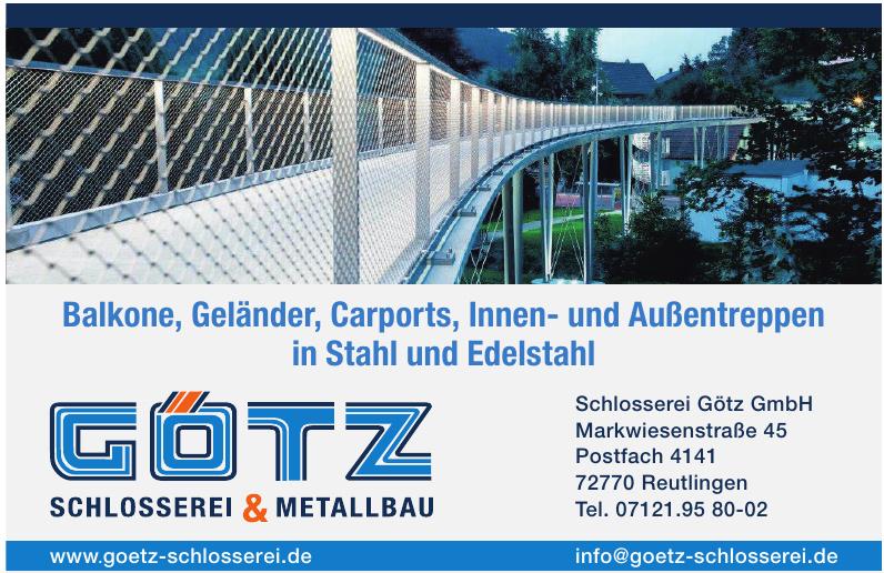 Schlosserei Götz GmbH