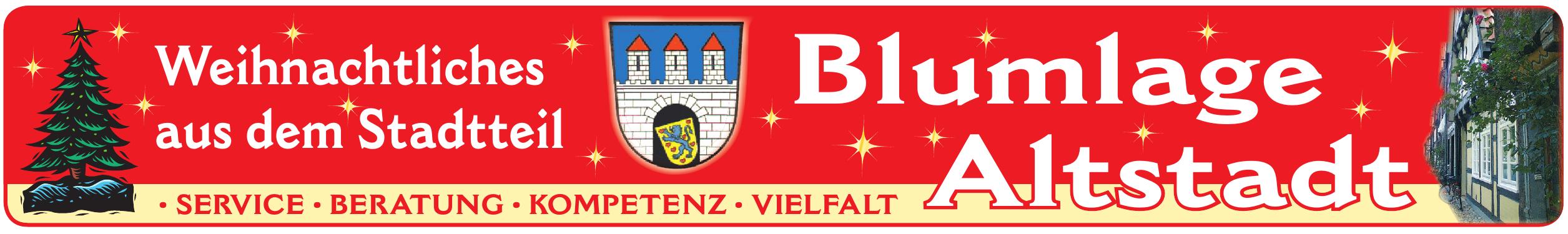 Weihnachtliches aus dem Stadtteil Blumlage Altstadt Image 1
