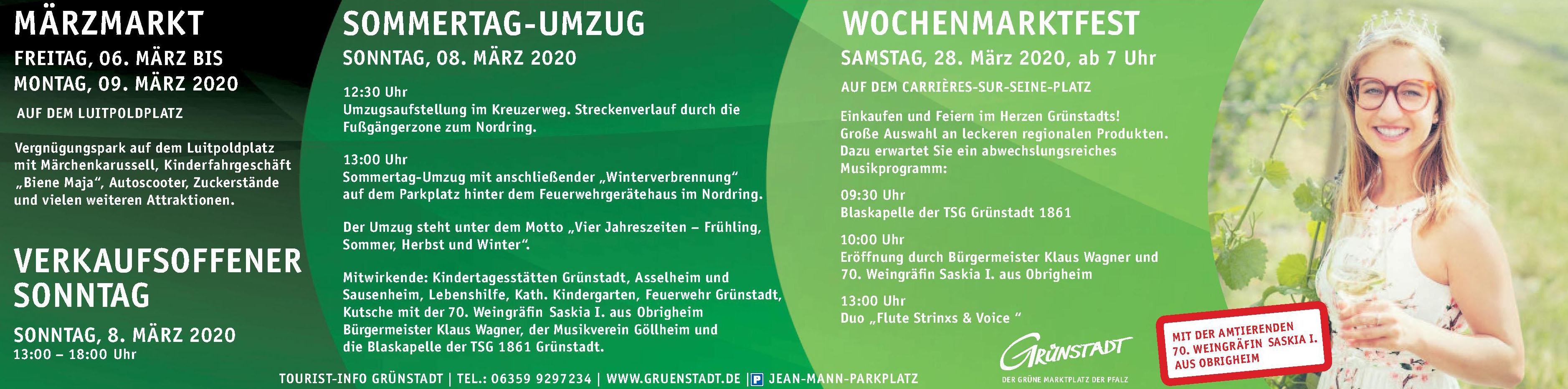 Tourist-Info Grünstadt im alten Rathaus