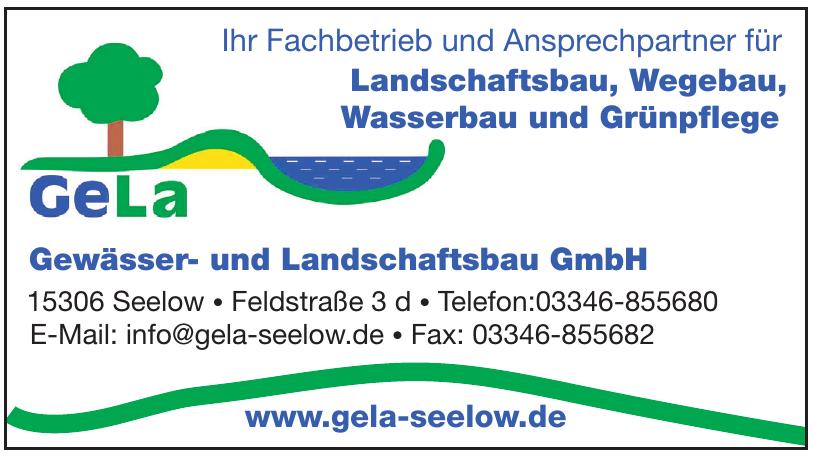 Gewässer- und Landschaftsbau
