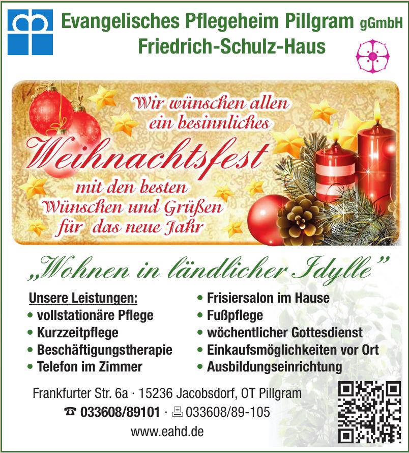Evangelisches Pflegeheim Pillgram gGmbH