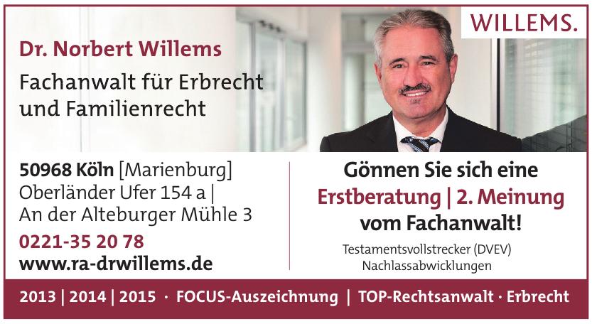 Dr. Norbert Willems