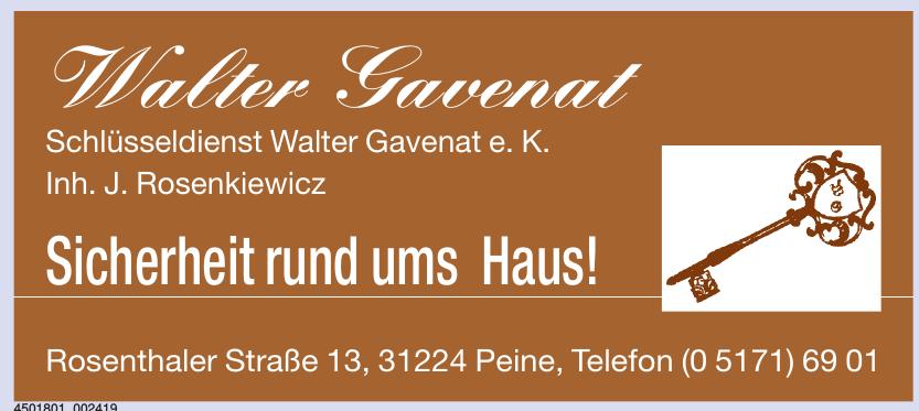 Walter Savenal