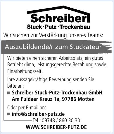 Schreiber Stuck-Putz-Trockenbau GmbH